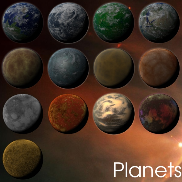 all types of planets - photo #1